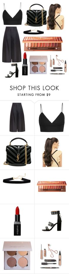 """""""Untitled #35"""" by xdhx16 ❤ liked on Polyvore featuring Valentino, Yves Saint Laurent, Urban Decay and Smashbox"""