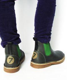 De Vries chelsea boots