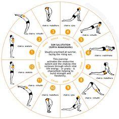 Yoga - Suryanamaskaram.