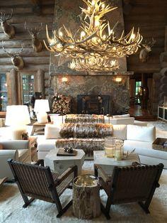 35 best antler chandelier images antler lights chandelier cottage rh pinterest com