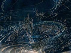 The Creation by Jorge Arturo Rodriguez Rocha, via Behance