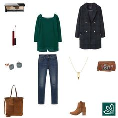 Checks & Bottle Green http://www.3compliments.de/outfit?id=129585813
