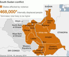 The western portion of South Sudan is peaceful. Pray that we'll know how/when to travel there.