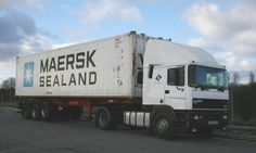 ERF EC11 with MAERSK SEALAND container
