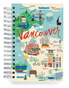 NEW :: Vancouver Jumbo Journal - Ecojot - eco savvy paper products
