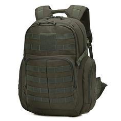 Defcon 5 Bushcraft Hiking Tri-zip EDC Backpack Rucksack Pack Bag 33L Olive Green