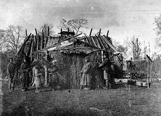 阿伊努人【库页岛,约1896年】 
