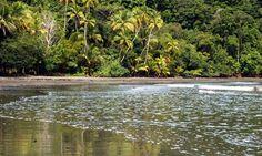 Playa Isla Violín, Costa Rica.