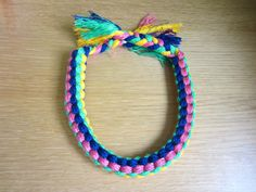THE CUBE OF COLOR, NECKLACE DIY | MY WHITE IDEA DIY