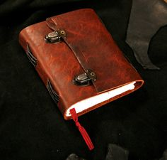 Leather Journal - Brown - Rusted Dual clasp - Diary - Notebook - Sketchbook 5x6 on Etsy,