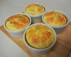 theworldaccordingtoeggface: It's World Egg Day! 8 Eggceptional Recipes including these Individual Baked Chili Relleno Casserole high Talipia Recipes, Bariatric Eating, Bariatric Recipes, Bariatric Surgery, Low Carb Recipes, Cooking Recipes, Egg Recipes, Protein Recipes, Health