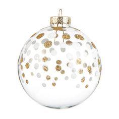 Boule pépites dorées sapin - Déco Noël Gold - Maisons du Monde