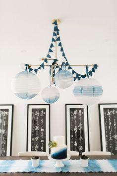 Indigo blue party id