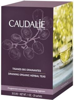 Caudalie Draining Organic Herbal Tea (20 Sachets) http://www.ebay.co.uk/itm/Caudalie-Draining-Organic-Herbal-Tea-20-Sachets-/291809520279?hash=item43f133ea97:g:Dl4AAOSwwo1XeMrE