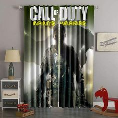Printed Call Of Duty Infinite Warfare Style Custom Living Room Curt – Westbedding Scarf Curtains, Elegant Curtains, Voile Curtains, Printed Curtains, Long Curtains, Bathroom Curtains, Hanging Curtain Rods, Decorative Curtain Rods, Call Of Duty Infinite