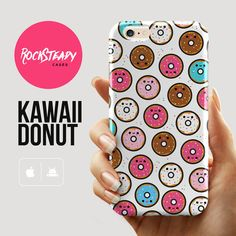 Cute Donut pattern iPhone 6 case kawaii iphone by RockSteadyCases