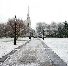 Christmas: Newport RI