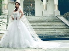 #WeddingDress #AlessandroAngelozziCouture #Collection2014 #ElisabettaCanalis