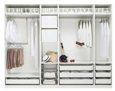 A step-by-step guide to turn an IKEA Pax closet system into a custom wardrobe and vanity. Description from pinterest.com. I searched for this on bing.com/images: