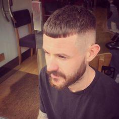 125 Timeless Caesar Haircut For Men Crop Haircut, Fade Haircut, Modern Haircuts, Haircuts For Men, Mens Cropped Hair, Hot Hair Styles, Medium Hair Styles, Undercut Hairstyles, Cool Hairstyles