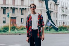 The Best Street Style from the Milan Fashion Week's Menswear Shows Photos | GQ