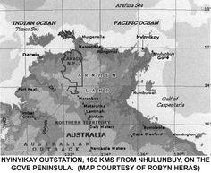 An unforgettable visit to Nyinyikay, North East Arnhem Land Naidoc Week, Darwin, Ocean, Australia, Map, Location Map, The Ocean, Maps, Sea