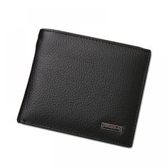 076ec977d11 100% Genuine Leather Men Wallet
