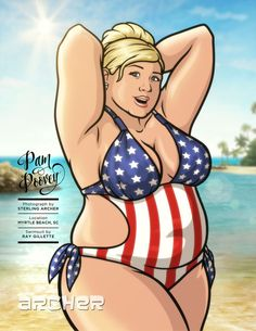 EXCLUSIVE: Ladies of Archer make their Swimsuit debut