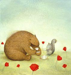 Serena Curmi Illustration: Tea Time