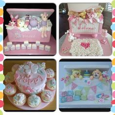 Gorgeous toybox cakes, cant decide which one i like the best