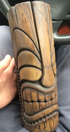 Tiki Carved