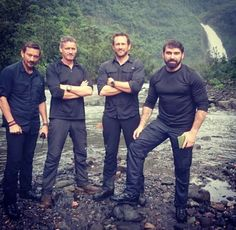 Ex SAS and SBS guys from British channel ITV show 'Who dares wins' Special Air Service, Special Ops, Special Forces, British Army Regiments, Ant Middleton, Itv Shows, Winning Quotes, British Armed Forces, Military Men