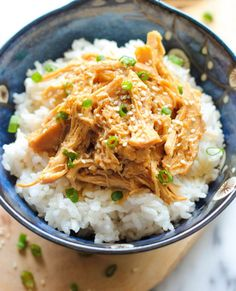 Slow Cooker Chicken Teriyaki - You can prep ahead to time or just before cooking, then throw all of the ingredients in the crockpot for a no-fuss, super easy chicken teriyaki dish! Slow Cooker Huhn, Crock Pot Slow Cooker, Slow Cooker Chicken, Slow Cooker Recipes, Cooking Recipes, Healthy Recipes, Oven Chicken, Pulled Chicken, Shredded Chicken