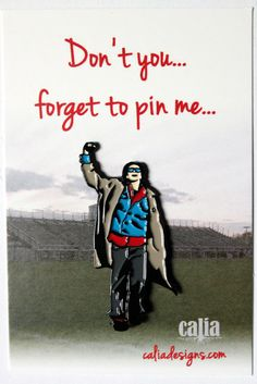 Breakfast Club Criminal (John Bender) Pin · Calia Designs · Online Store Powered by Storenvy