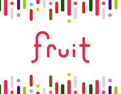 This is my project about fruits. Working On Myself, Icon Set, New Work, It Works, Behance, Fruit, Gallery, Check, Projects