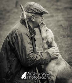 Dog Photographer www.AndyBiggar.com True Love Labrador Gundog and his owner on a shoot day in Wales Andy Biggar Photography the UK's Number One Dog Photographer
