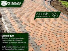 #adoquines de colores expresan calidad a las edificaciones, su instalación debe ir acorde con la calidad del producto.