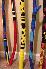 Image result for painted sticks