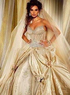 #Colorful #Wedding #Dresses