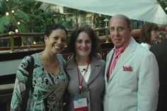 With Andrea Astrachan (now PBO judge), spokesperson for Giant Food and Stop and Shop, and Barry Scherr of Giant Food