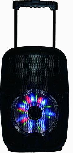 Multimedia Portable Floor Standing Outdoor Speakers System