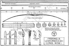 Making a Lemonwood Long Bow