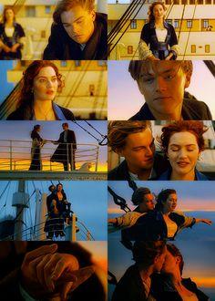 Titanic--my favorite scene in the entire movie (sigh) Kate Winslet, Sad Movies, I Movie, Titanic Movie Facts, Titanic Quotes, Narnia, Do You Trust Me, Leonardo Dicapro, Leo And Kate