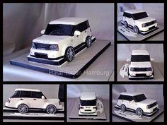 Range Rover cake Ambulance Cake, Cakes For Men, Range Rover, Cake Ideas, Creativity, Touch, Cookies, Baking, Birthday
