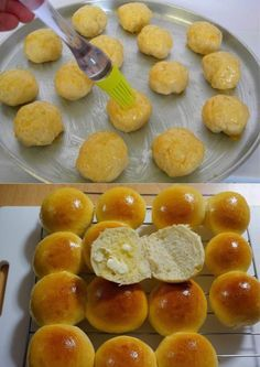 Ingredientes 2 colheres (chá) fermento químico em pó 2 ovos inteiros 12 colheres (de sopa) de leite em pó (pode ser desnatado) Modo de preparo Em uma tijela, bata os ovos com um fouet para desfazer a clara. Em seguida, acrescente o fermento e...