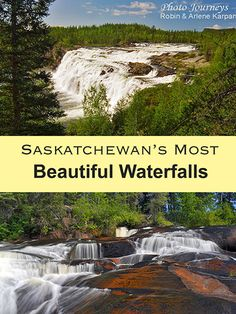 Where to find northern Saskatchewan's most beautiful waterfalls, cascading along rivers in pristine boreal forest wilderness. Visit Canada, Canada Eh, The Places Youll Go, Places To Visit, West Coast Canada, Voyage Canada, Montreal, Canada Destinations, Canadian Travel