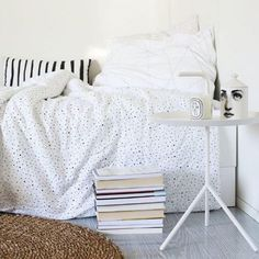 Inspiration for the styling of a room for a teenager - The perfect bedding!