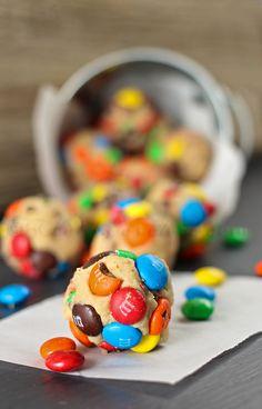 M&M's Cookie Dough Bites :)