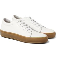 Adrian Leather Sneakers | Acne Studios | Gum Sole Sneakers