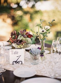 Tuscan Villa-inspired, Rustic-Luxe, Vineyard Wedding - Reception, Centerpiece, Rustic